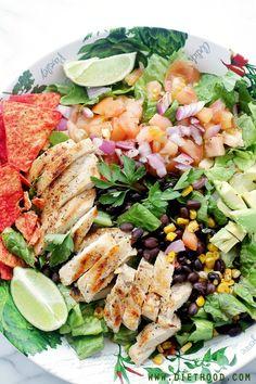 Tex Mex Chicken Diethood Tex Mex Margarita Chicken Salad