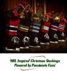 hockey Christmas stocking