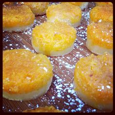 Heirloom orange shortbread bars. #tendergreens #tgpastry #tghollywood #tgbeergarden