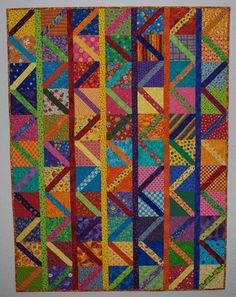 Double Nickel Quilts: To and Fro quilt
