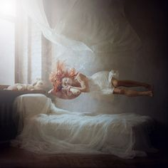 sleeping by anka zhuravleva