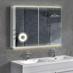 neu.haus ® LED Badezimmerspiegel Wandspiegel Spiegel Kosmetikspiegel Schrank