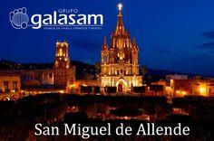 Visitemos en la peregrinación a #México del 27 de marzo al 4 de abril #SanMiguelDeAllende que el 1 de noviembre de 2013 fue nombrada por la revista Condenast Traveler como la mejor ciudad del mundo junto con otras 24 ciudades que son reconocidas por su gran aportación cultural belleza arquitectónica y lugares de diversión. peregrinaciones@galasam.com.ec 04 2304488