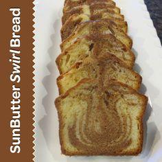 SunButter Swirl Bread