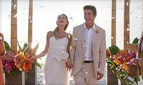 Try an island paradise theme destination wedding.