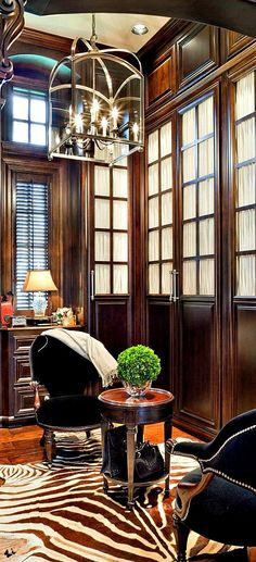 Joy Tribout Interior Design - dark wood closet or library House Styles, House Design, Colonial Style, Beautiful Interiors, British Colonial Style, Interior Design, Home Decor, House Interior, Luxury House Designs