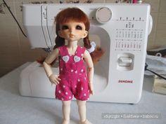 Мастер-класс по пошиву летнего комбинезона для куклы Литтлфи (BJD Fairyland LittleFee). - http://babiki.ru/blog/master/38296.html