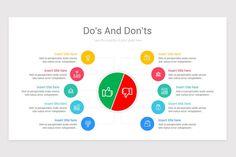 Dos and Don'ts Keynote Presentation Template Keynote, Outline, Presentation, Chart, Templates, Marketing, Stencils, Vorlage, Models