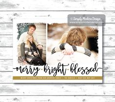 christmas pregnancy announcement card more the merrier winter pregnancy announcement gold foil silver foil printable or printed cards