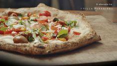 I samarbeid med restaurant Villa Paradiso gir vi deg oppskriften på deres enkle grønne pizza, med sesongens norske tomater. Vegetable Pizza, Gluten, Cakes, Vegetables, Food, Meal, Essen, Vegetable Recipes, Hoods
