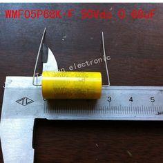 (10PCS/LOT)WMF05P68K-F CAP FILM 0.68UF 10% 50VDC AXIAL ... #Affiliate