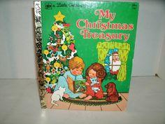 My Christmas Treasury // Little Golden Book // Vintage 1970s Children's Book // Etsy // LoveVintageAlways