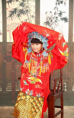 Traditional Chinese bride