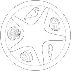 Seestern Mandala