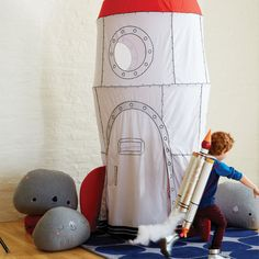 To the Moon Playhouse Canopy   The Land of Nod