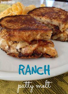 Ranch Patty Melt