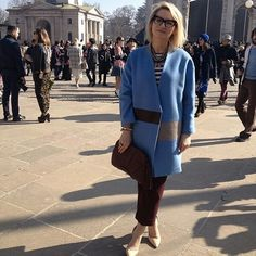Эвелина Хромченко Got The Look, Fashion Details, Coats For Women, Runway, Shirt Dress, Blazer, Celebrities, My Style, Womens Fashion