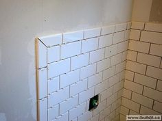 How To Tile Corners With Subway Tile Google Search Need Bullnose - Ceramic tile bullnose maker