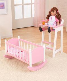 Kidkraft Pink Darling Doll Furniture Set