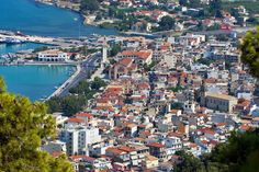 Zante is a beautiful island that is surrounded by various different scenic areas.