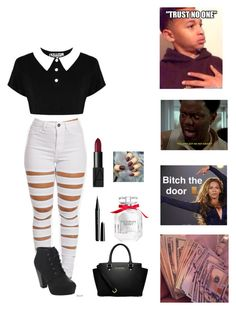 """""""Untitled #194"""" by clarinet4ever ❤ liked on Polyvore featuring Bella Marie, MICHAEL Michael Kors, Marc Jacobs, Victoria's Secret and NARS Cosmetics"""