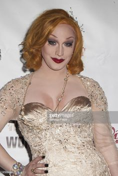 Jinkx Monsoon attends 'RuPaul's Drag Race' Season 7 Finale And Coronation at Stage48 on June 1, 2015 in New York City.