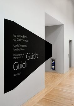 GUIDO GUIDI – FEED  #optical #signage #wayfinding