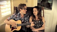 """super good and cute! """"It Ain't Me Babe (cover)"""" - Tom (McFly) and Gi Fletcher"""