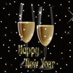 Znalezione obrazy dla zapytania gify szczesliwego nowego roku