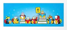 Penguins Ready For School / Mangulica