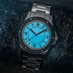 Hamtun Neon, our Swiss STP powered affordable sports watch. If you're on the look out for a cool, affordable mens watch, this is one you have to check out. Best Cheap Watches, Best Watches For Men, Cool Watches, Rolex Watches, Affordable Automatic Watches, Best Affordable Watches, Automatic Watches For Men, Best Sports Watch, Watch Sale