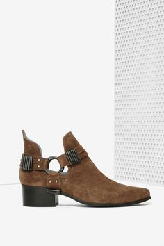 Grey City Willa Suede Ankle Boot | Shop Shoes at Nasty Gal!