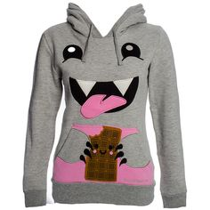 David and Goliath Chocolate Monster Hoodie (Grey)
