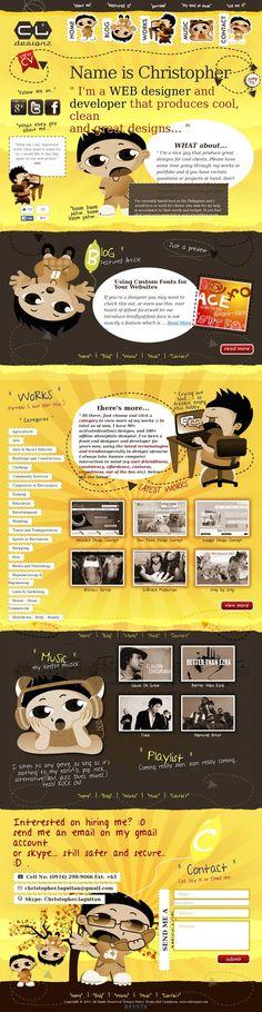 Website 'http://cldesignz.com' snapped on Snapito.com