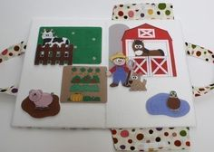 Fun Felt Boards ePattern for Travel and Full Size by CopyCrafts
