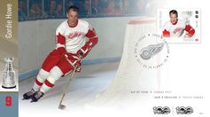 Canadian Hockey Legends stamps revealed by Canada Post