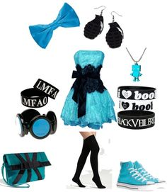 """Let's Go Dancing...=)"" by scene-queen26 ❤ liked on Polyvore"
