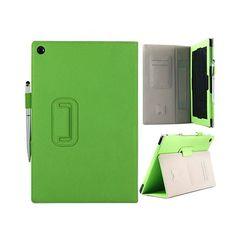 Alpha (Grønn) Sony Xperia Tab Z Lær Deksel
