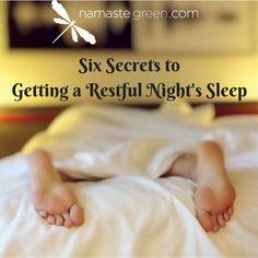 6 Secrets to Getting a Restful Night's Sleep