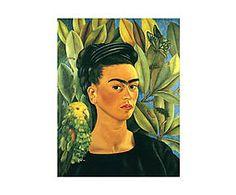 Impresión sobre lienzo Frida Kahlo II - 55x75 cm