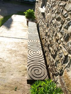 great bench to look at your Garden Sculpture
