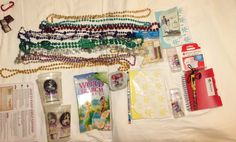Some of our FE gifts (fish extender) Disney Dream cruise 5/19/13