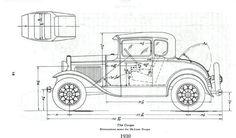 Ford Coupe (1930) | SMCars.Net - Car Blueprints Forum