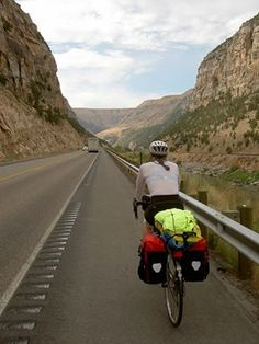 Bicycle touring. U.S. Bicycle Route System's photo.