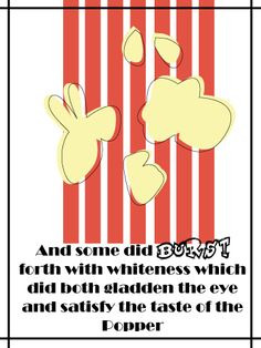 of the popcorn printable more evening lessons sunday school popcorn ...