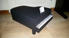 Vleugel als Sinterklaas surprise  / piano