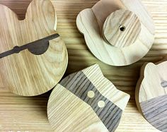 BadGuys wooden wall hooks for kids room -    Edit Listing  - Etsy