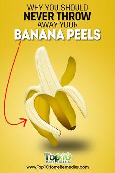 10 Amazing and Interesting Beauty Uses for Banana Peels