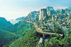 After scouring the world, producers chose this as the setting for the fictional island of Themyscira.