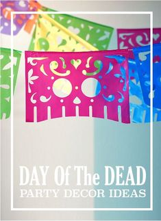 Day of the Dead : Throw a Day of the Dead Party with these decor ideas #dayofthedead #halloween